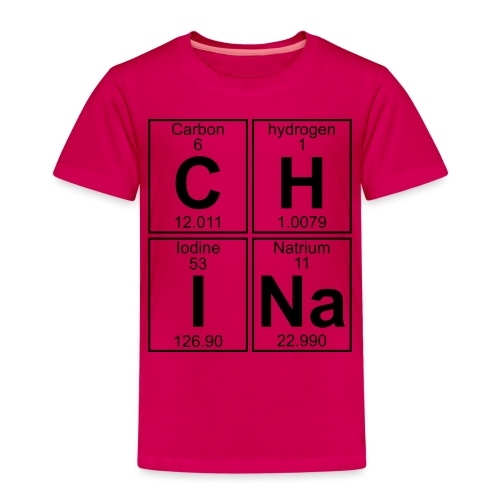 C-H-I-Na (china) - Full - Kids' Premium T-Shirt