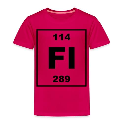 Flerovium (Fl) (element 114) - Kids' Premium T-Shirt