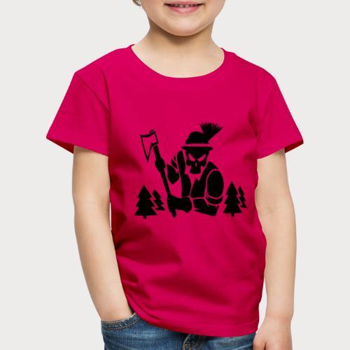 Holzfäller - Kinder Premium T-Shirt