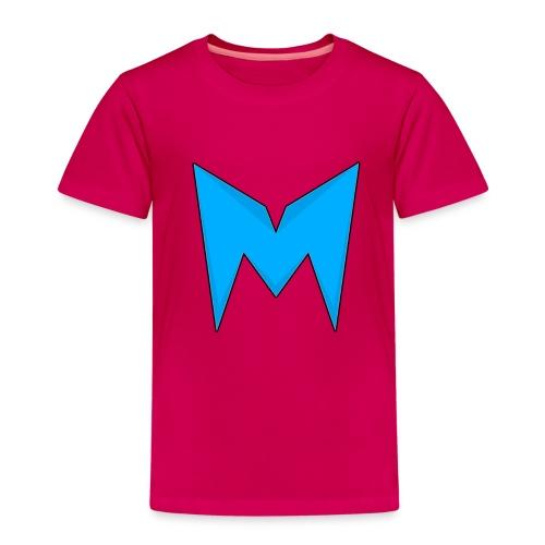 Tee-shirt Madcrow gris & logo bleu sur le torse - T-shirt Premium Enfant