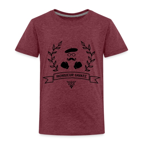 Monsieur Savate logo1 - T-shirt Premium Enfant