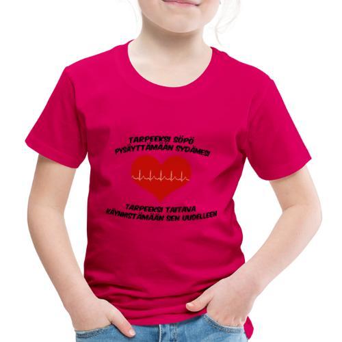 Söpö ja taitava - Lasten premium t-paita