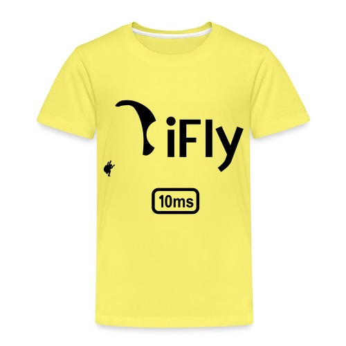 Paragliding iFly 10ms - Kids' Premium T-Shirt