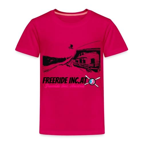 Hütten Ralley Logo groß - Kinder Premium T-Shirt