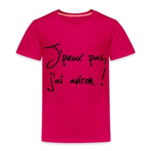 J'peux pas j'ai aviron ! - T-shirt Premium Enfant