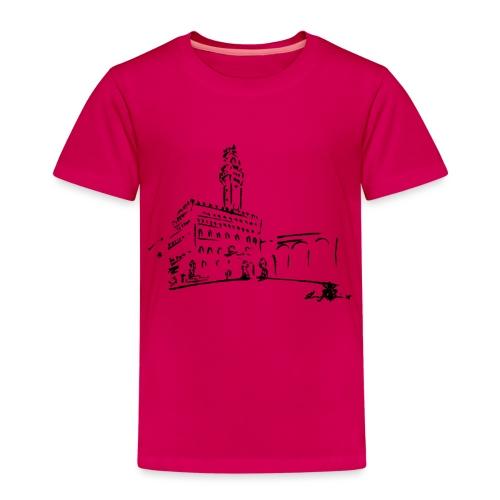 FIRENZE, PALAZZO VECCHIO, PIAZZA DELLA SIGNORIA - Maglietta Premium per bambini