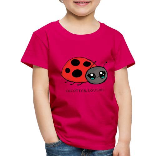 Pirouette la coccinelle - T-shirt Premium Enfant