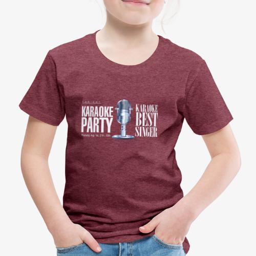 Karaoke party - Camiseta premium niño