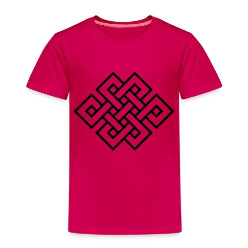 Endlos Knoten, Tibet, Unendlich, Glückssymbol - Kinder Premium T-Shirt