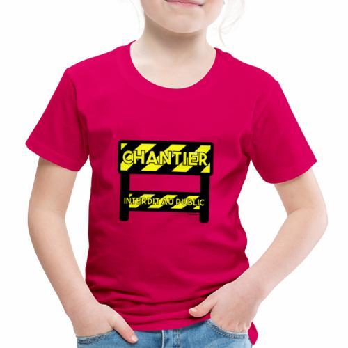 Werk in uitvoering - Kinderen Premium T-shirt