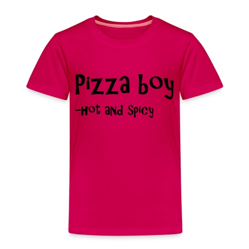 Pizza boy - Premium T-skjorte for barn