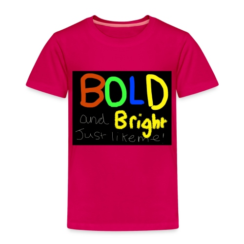 Bold and bright - Kids' Premium T-Shirt