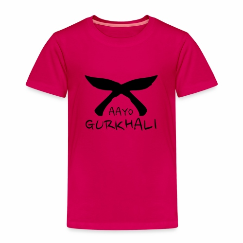 AAYO GURKHALI - Kids' Premium T-Shirt