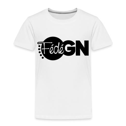 Logo FédéGN pantone - T-shirt Premium Enfant