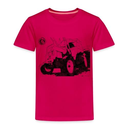 Mr. Moto IHC 633 Schwarz - Kinder Premium T-Shirt