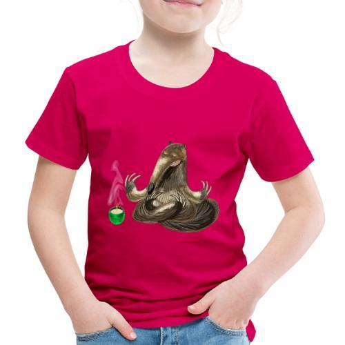 Meditating Ant eater design / print - Kids' Premium T-Shirt