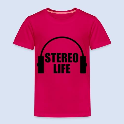 STEREO LIFE - Kinder Premium T-Shirt