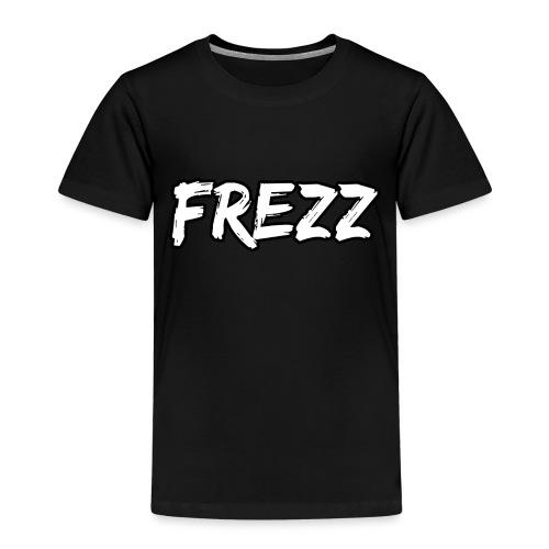 T Shirt FREZZ Noir&Blanc Classique (NOIR) - T-shirt Premium Enfant