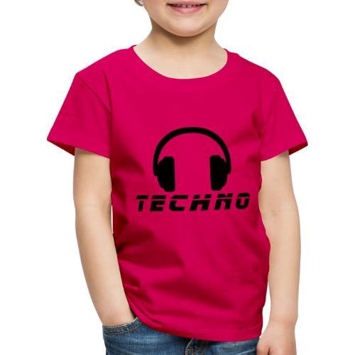 Techno Music - Kinder Premium T-Shirt