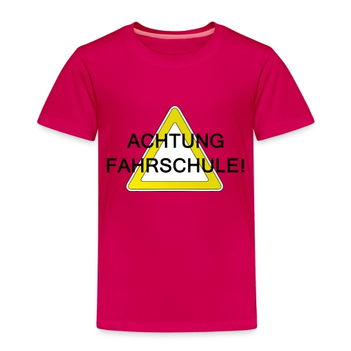 Schulweg - Kinder Premium T-Shirt