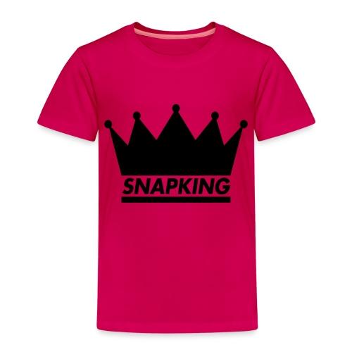 Snapking kroon - Kinderen Premium T-shirt