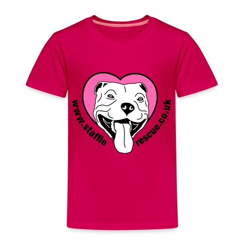Staffie Rescue - Kids' Premium T-Shirt