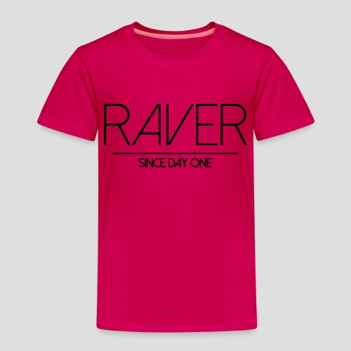 Raver since day one - Kinder Premium T-Shirt