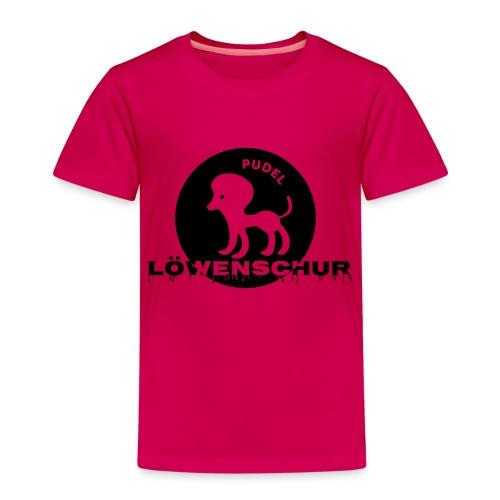 Pudel Löwenschur Cap - Kinder Premium T-Shirt