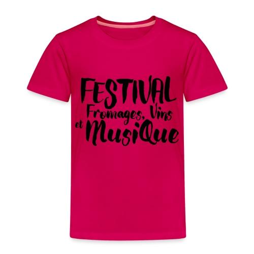 Festival Fromages, Vins et Musique - T-shirt Premium Enfant