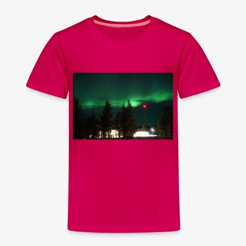 Aurora Boreale - Maglietta Premium per bambini