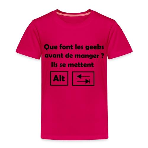 Alt Tab - T-shirt Premium Enfant