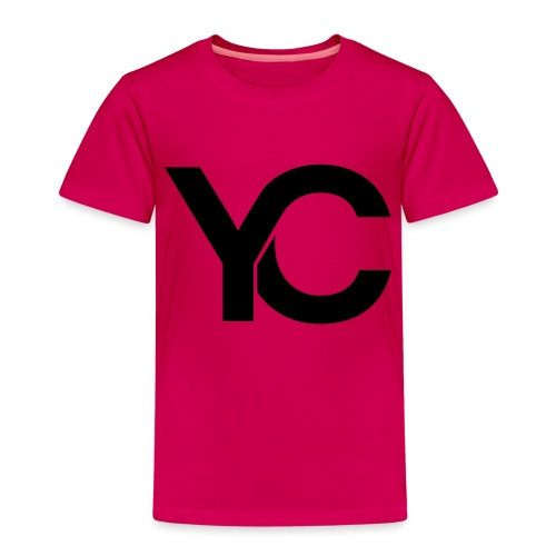 YC Black Logo - Kids' Premium T-Shirt