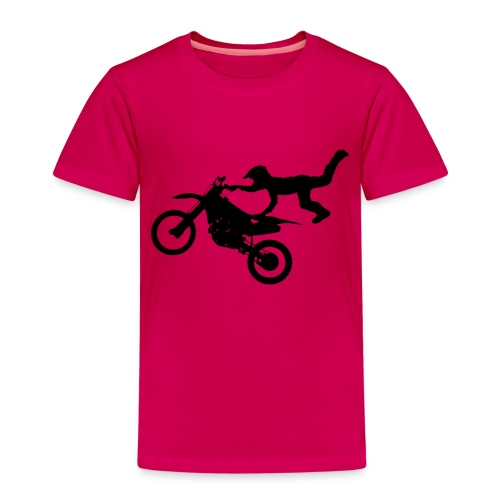 Motocross Bike Aerial Stunt - Maglietta Premium per bambini
