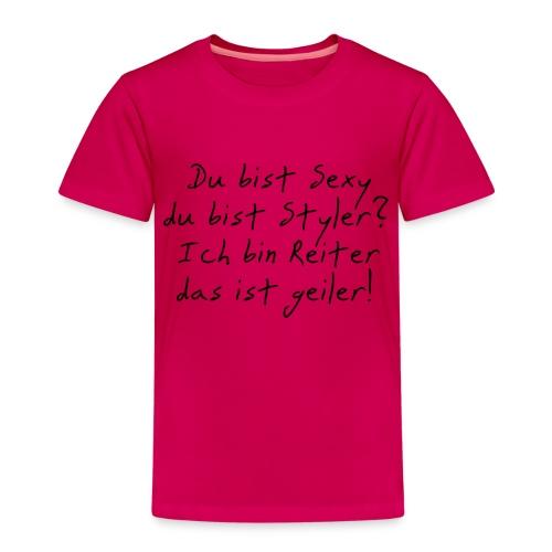 Reiter sind geiler - Kinder Premium T-Shirt