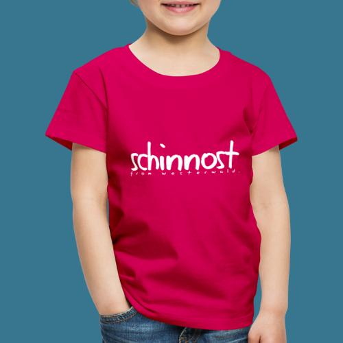 Schinnoost PINK Kollektion - Kinder Premium T-Shirt