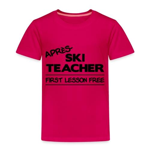 Apres ski teacher - Kinder Premium T-Shirt