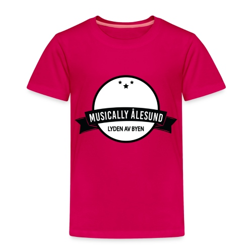Musically Ålesund Official Logo - Premium T-skjorte for barn