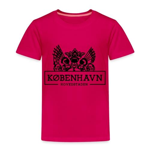 KØBENHAVN - Børne premium T-shirt