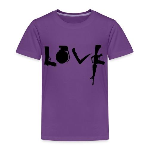 Love weapons - Kids' Premium T-Shirt