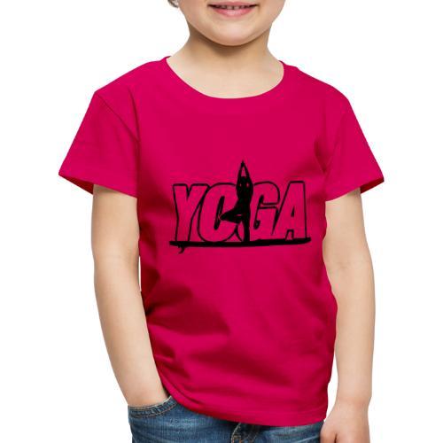 Yoga SUP - Stand Up Paddling - Kinder Premium T-Shirt