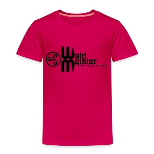 Waldmeister.ch real psy music - Kids' Premium T-Shirt