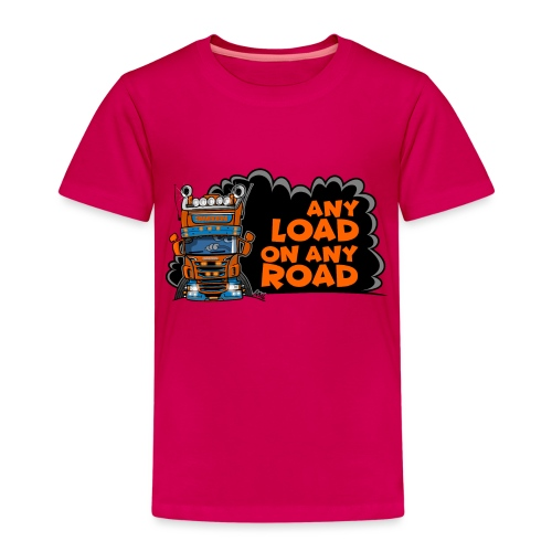 0323 any load on any road - Kinderen Premium T-shirt