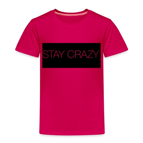 STAY CRAZY - Premium-T-shirt barn