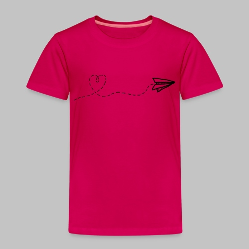 fly heart - Kids' Premium T-Shirt