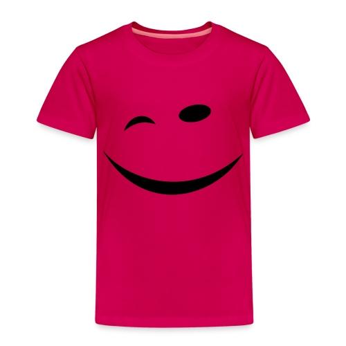 Zwinkersmiley - Kinder Premium T-Shirt