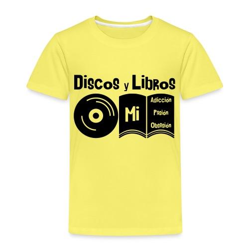 Discos y Libros - Camiseta premium niño