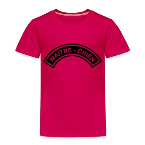 Ecusson Maitre-Chien demilune - T-shirt Premium Enfant