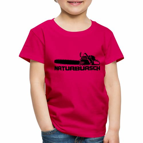 Natuabuasch Motorsäge - Kinder Premium T-Shirt