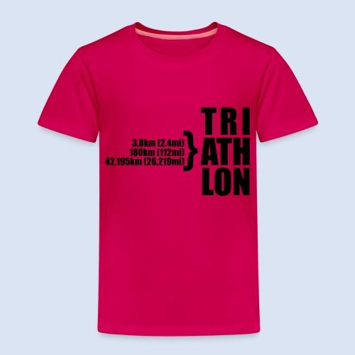 Triathlon Sport Distance - Kinder Premium T-Shirt