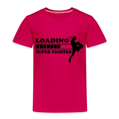 fighter loading - Kinderen Premium T-shirt